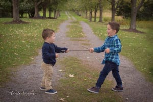 family photographer in rochester ny captures brothers playing
